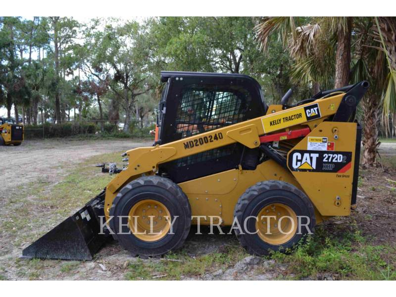 CATERPILLAR KOMPAKTLADER 272D2XHP equipment  photo 4
