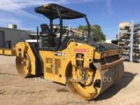 CATERPILLAR ROLO COMPACTADOR DE ASFALTO DUPLO TANDEM CB66B equipment  photo 1