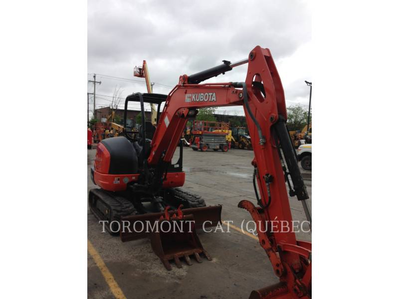 KUBOTA CORPORATION PELLES SUR CHAINES KX040-4 equipment  photo 4