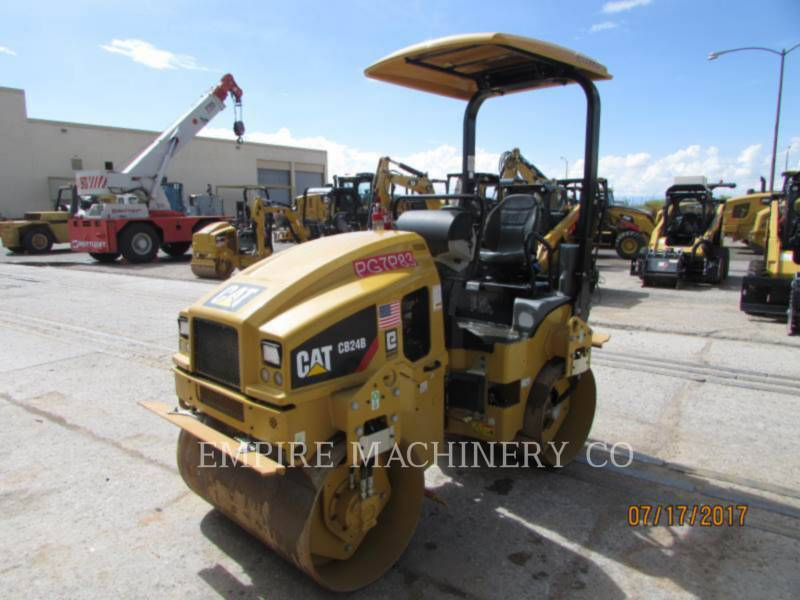 CATERPILLAR TANDEMOWY WALEC WIBRACYJNY DO ASFALTU (STAL-STAL) CB24B equipment  photo 3