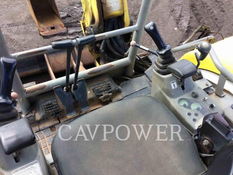 YANMAR TRACK EXCAVATORS VIO 55 - B equipment  photo 12
