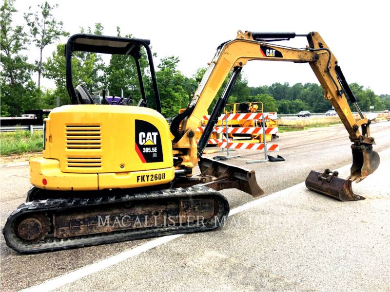 CATERPILLAR PELLES SUR CHAINES 305.5E equipment  photo 2