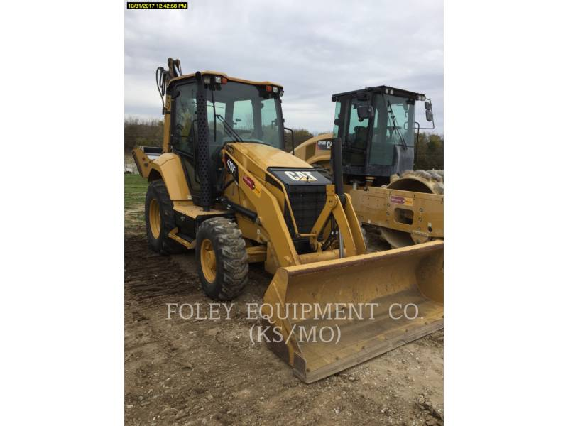 CATERPILLAR BAGGERLADER 416F2ST equipment  photo 2