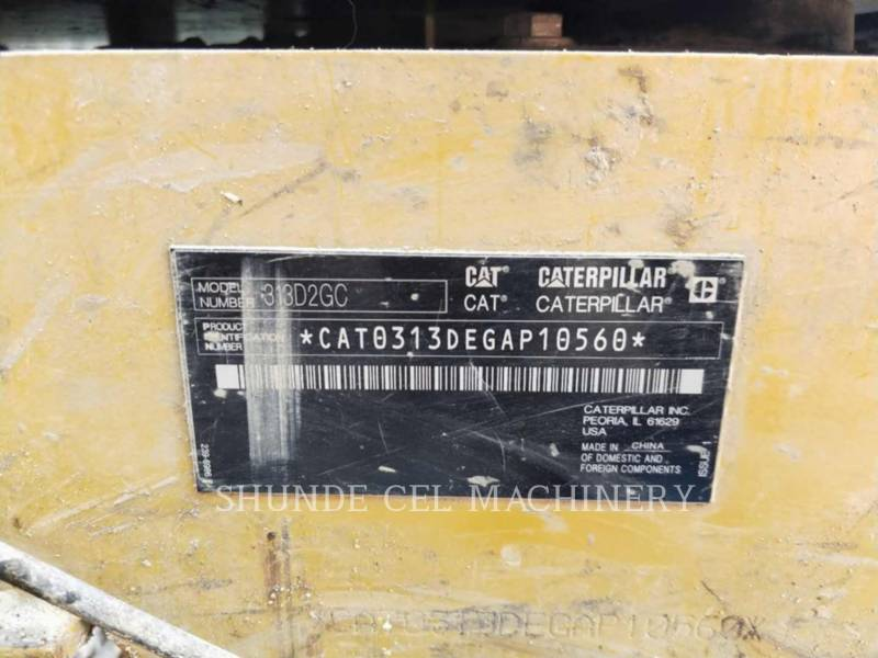 CATERPILLAR KETTEN-HYDRAULIKBAGGER 313D2GC equipment  photo 2