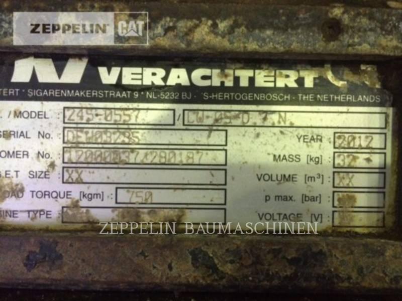 CATERPILLAR WT - バックホー・ワーク・ツール CW05 equipment  photo 2