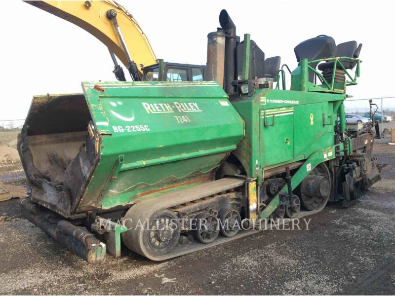 BARBER GREENE ASPHALT PAVERS AP655-C equipment  photo 1