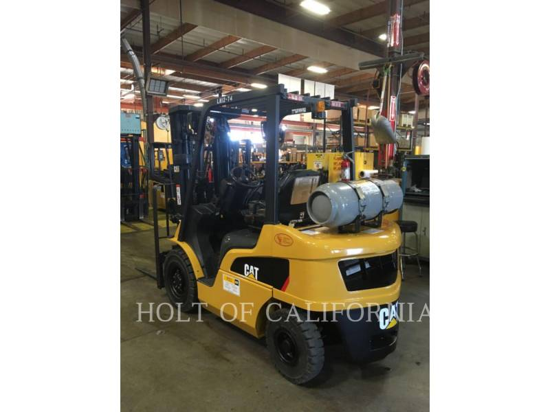 CATERPILLAR MITSUBISHI MONTACARGAS P5000-LE equipment  photo 2