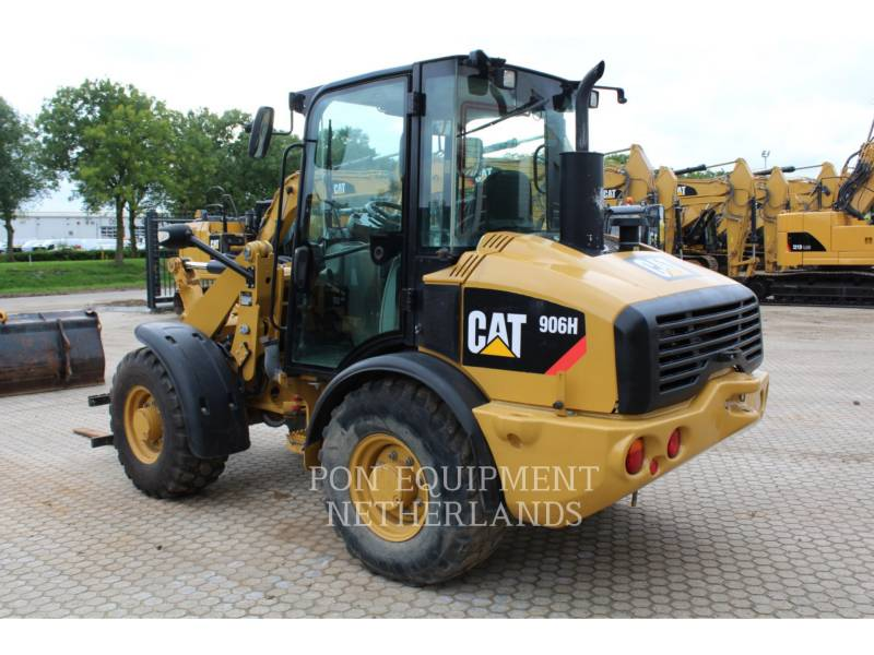 CATERPILLAR RADLADER/INDUSTRIE-RADLADER 906H equipment  photo 3