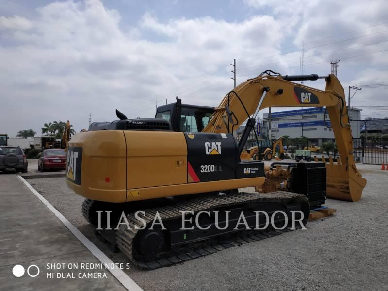 CATERPILLAR TRACK EXCAVATORS 320D2L equipment  photo 1