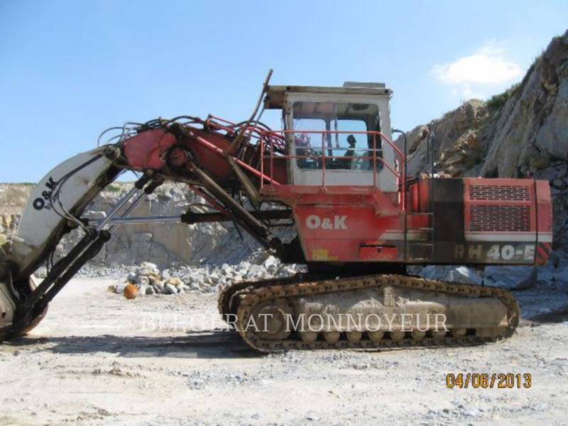 O&K PALA PARA MINERÍA / EXCAVADORA RH40 equipment  photo 3