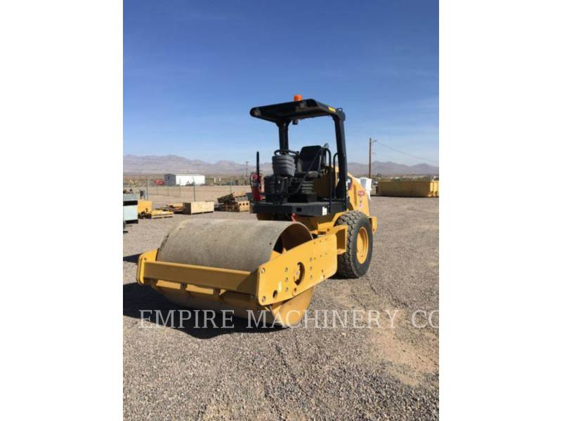 CATERPILLAR COMPACTEUR VIBRANT, MONOCYLINDRE À PIEDS DAMEURS CS44 equipment  photo 2