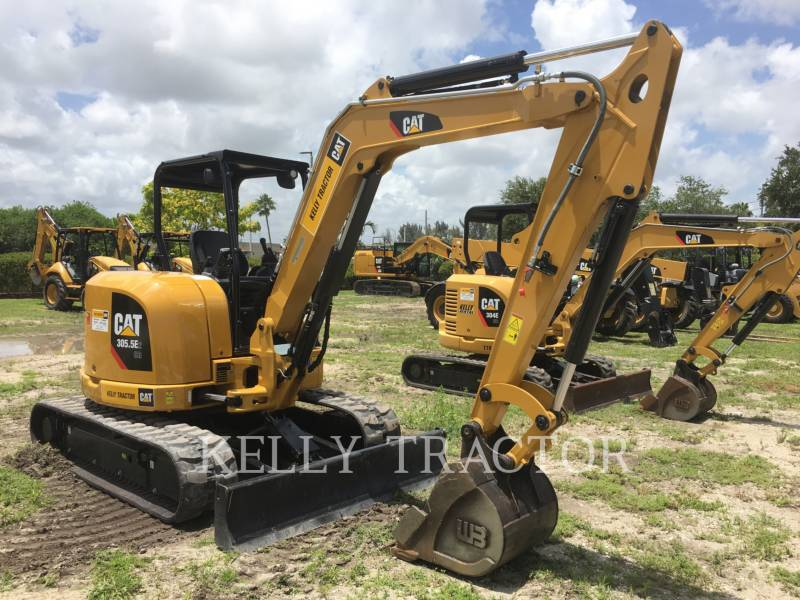 CATERPILLAR TRACK EXCAVATORS 305.5E2 CR equipment  photo 1
