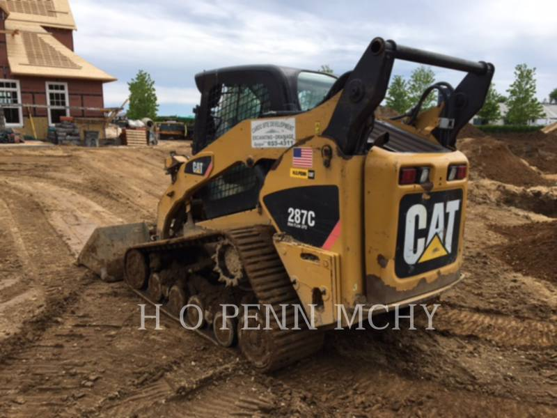 CATERPILLAR CHARGEURS TOUT TERRAIN 287C equipment  photo 4