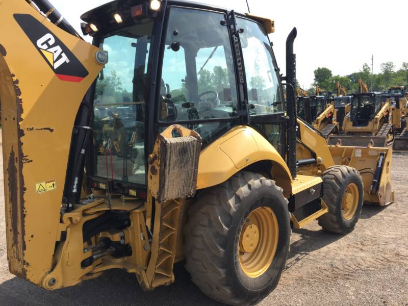 CATERPILLAR RETROESCAVADEIRAS 420FST equipment  photo 9