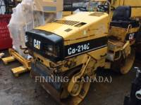 Equipment photo CATERPILLAR CB-214C TANDEMOWY WALEC WIBRACYJNY DO ASFALTU (STAL-STAL) 1