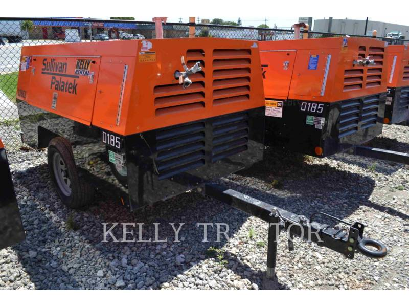 SULLIVAN AIR COMPRESSOR D185P PK equipment  photo 1