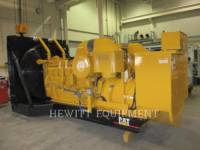 CATERPILLAR STATIONARY GENERATOR SETS 3512, 910KW 600VOLTS equipment  photo 1