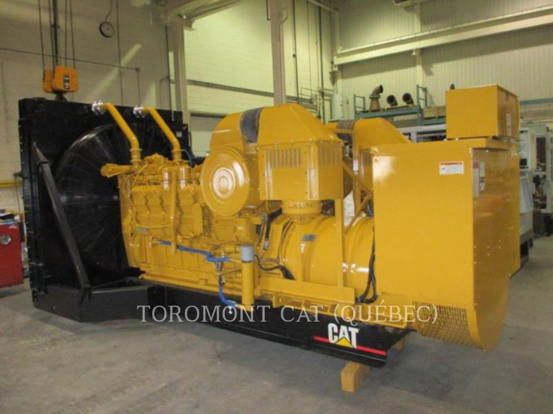 CATERPILLAR STATIONARY GENERATOR SETS 3512, 910KW 600VOLTS equipment  photo 1