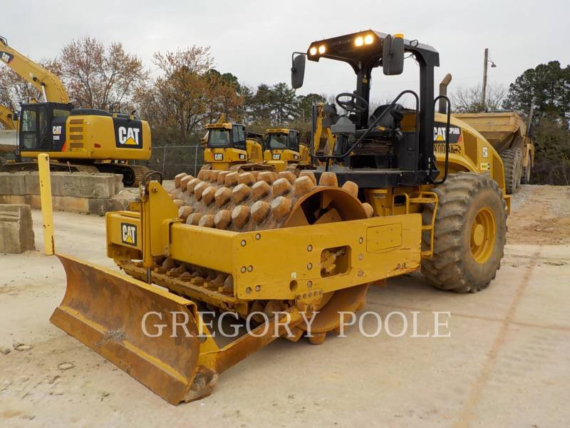 CATERPILLAR VIBRATORY SINGLE DRUM PAD CP-56B equipment  photo 1