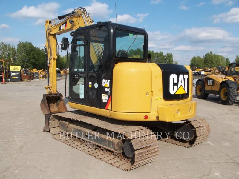 CATERPILLAR TRACK EXCAVATORS 308E CR equipment  photo 3