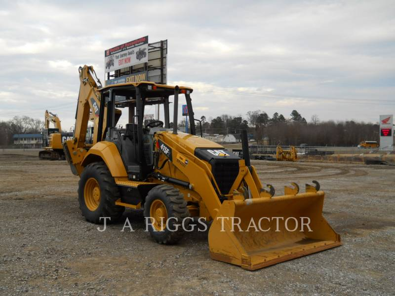 CATERPILLAR BAGGERLADER 415F 4 equipment  photo 7