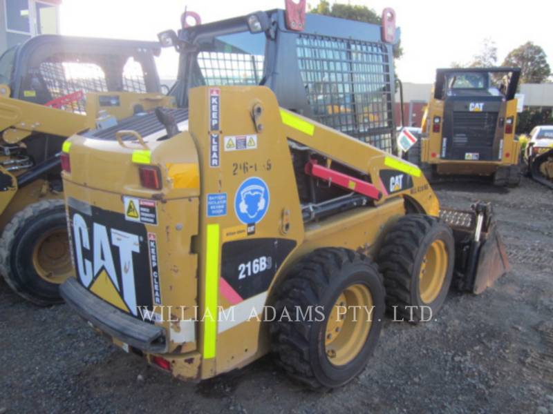CATERPILLAR SKID STEER LOADERS 216B3 equipment  photo 3