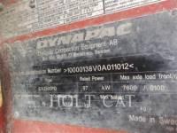 DYNAPAC VIBRATORY SINGLE DRUM PAD CA 2500 PD equipment  photo 5
