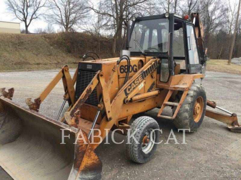 CASE/NEW HOLLAND BAGGERLADER 680G equipment  photo 1