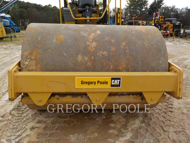 CATERPILLAR VIBRATORY SINGLE DRUM SMOOTH CS-54 equipment  photo 8