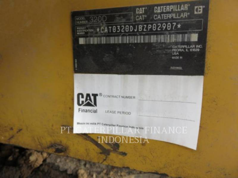 CATERPILLAR EXCAVADORAS DE CADENAS 320D equipment  photo 6