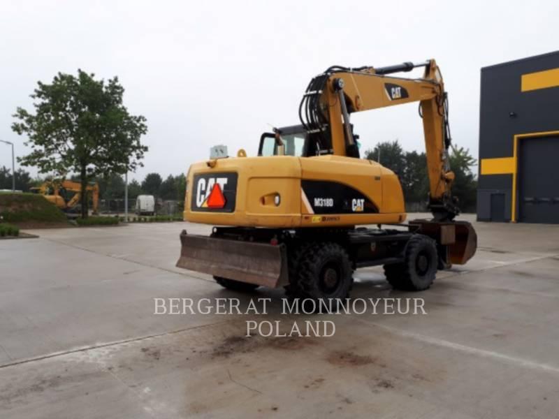 CATERPILLAR EXCAVADORAS DE RUEDAS M318D equipment  photo 3