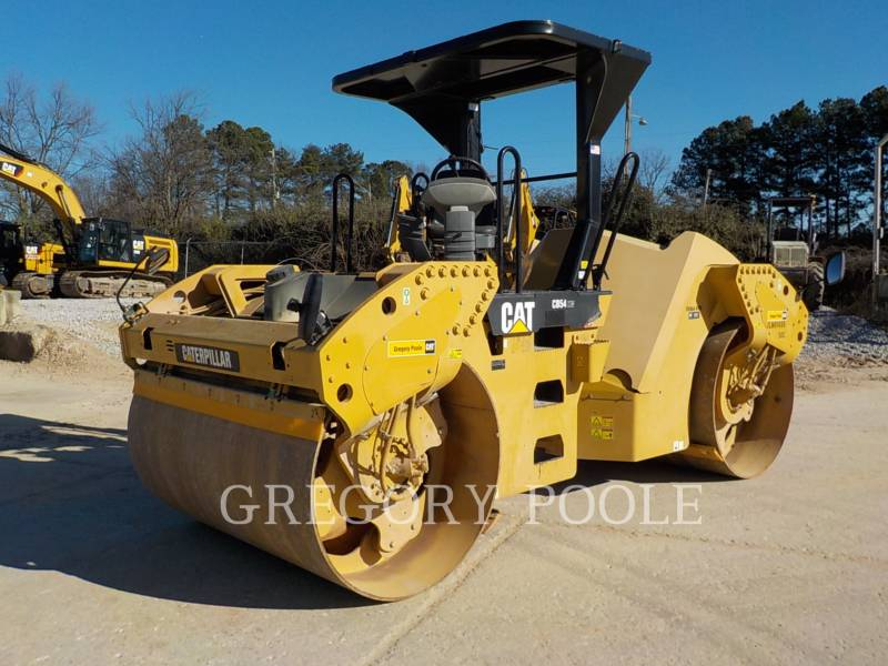 CATERPILLAR TANDEMOWY WALEC WIBRACYJNY DO ASFALTU (STAL-STAL) CB-54 equipment  photo 1