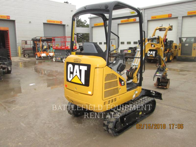 CATERPILLAR KETTEN-HYDRAULIKBAGGER 301.7D equipment  photo 4