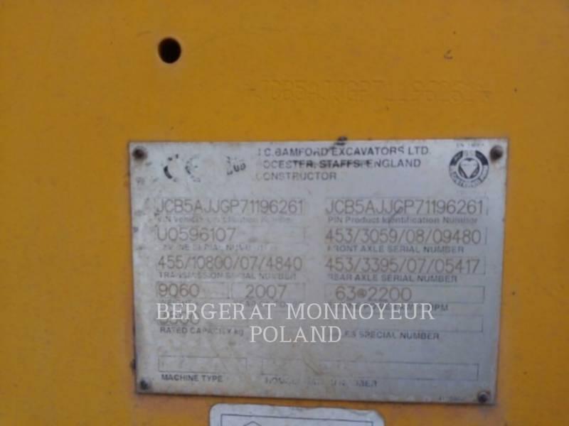 JCB TELEHANDLER 535-125 equipment  photo 2