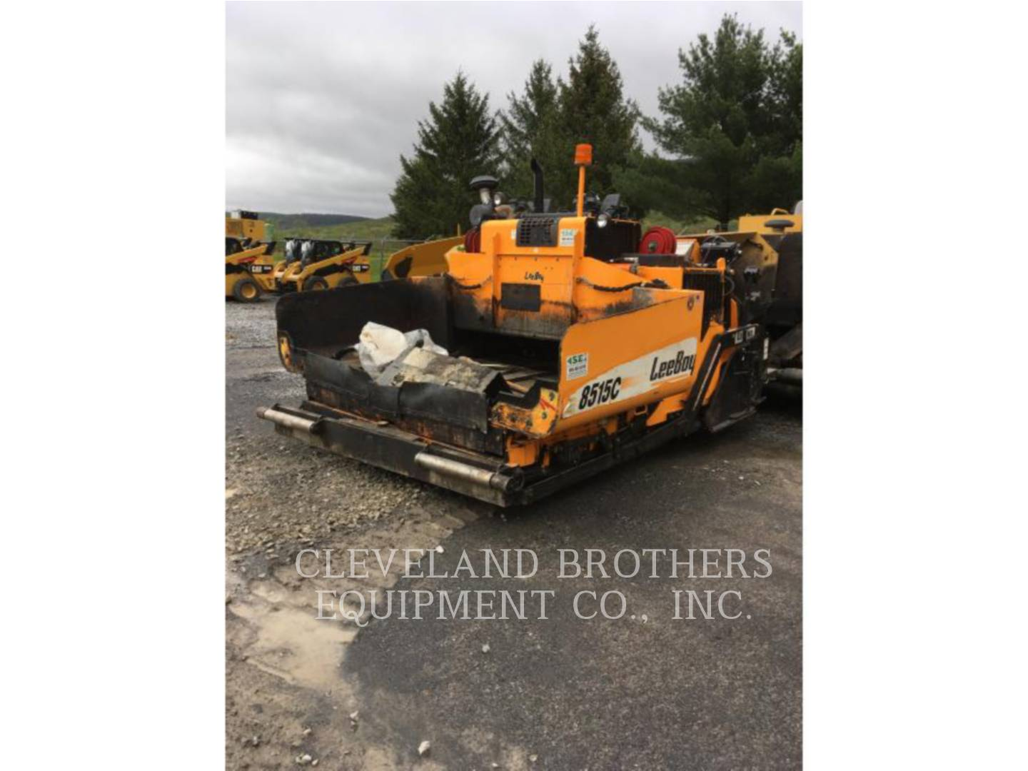 Detail photo of 2014 LeeBoy 8515C from Construction Equipment Guide