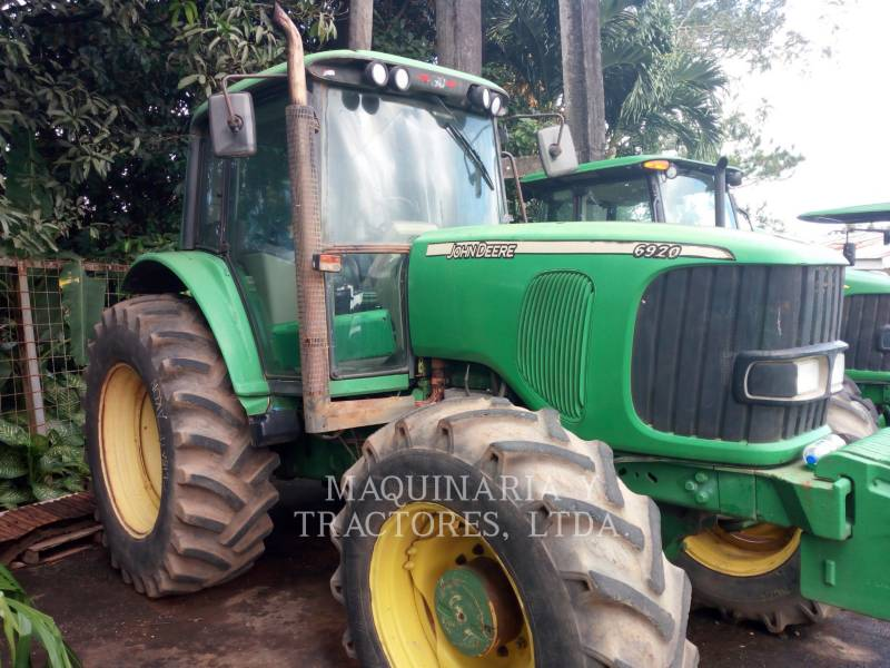 JOHN DEERE TRACTORES AGRÍCOLAS 6920 equipment  photo 2