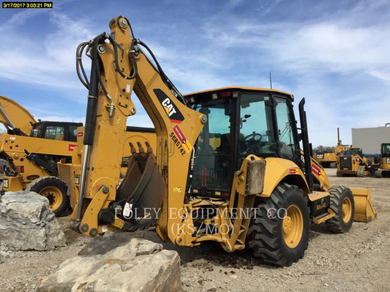 CATERPILLAR BAGGERLADER 416F2 equipment  photo 3