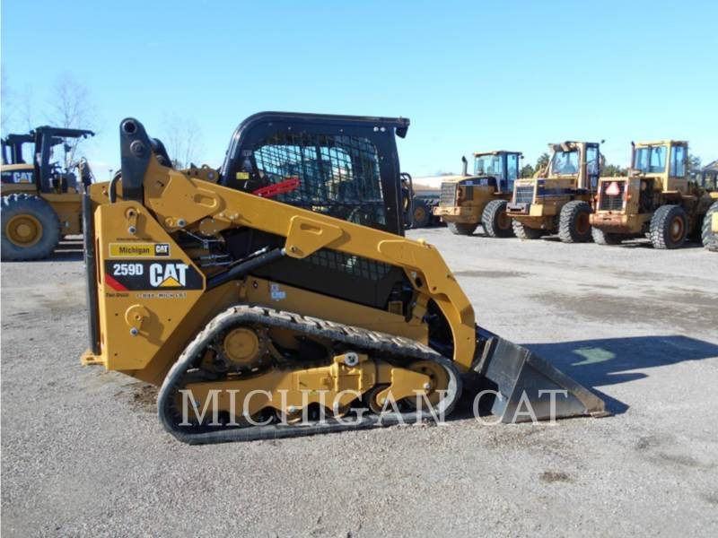 CATERPILLAR MULTI TERRAIN LOADERS 259D AQ equipment  photo 6
