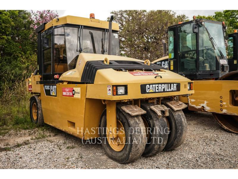CATERPILLAR PNEUMATIC TIRED COMPACTORS PS-300C equipment  photo 3