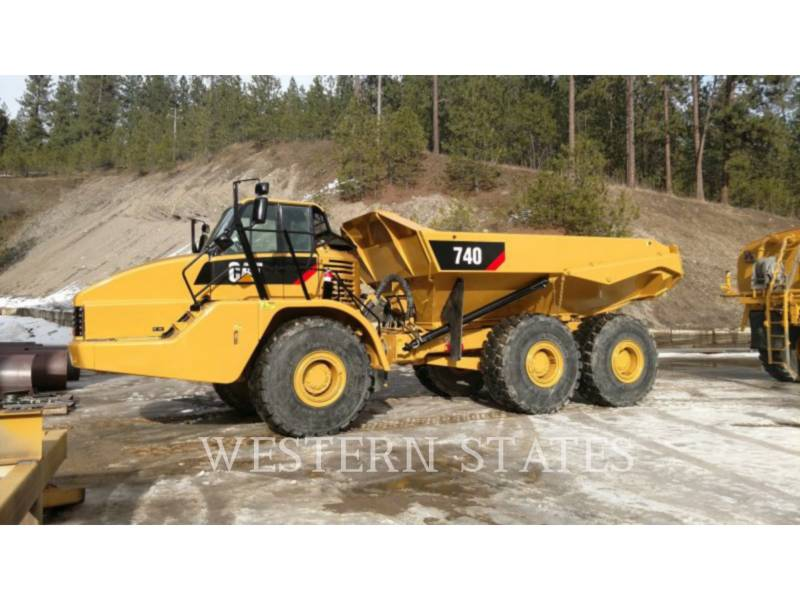 CATERPILLAR WOZIDŁA PRZEGUBOWE 740 equipment  photo 1