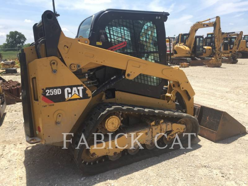 CATERPILLAR CHARGEURS TOUT TERRAIN 259D C3H2 equipment  photo 4