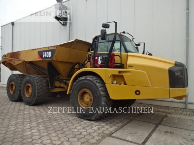 CATERPILLAR KNICKGELENKTE MULDENKIPPER 740B equipment  photo 8