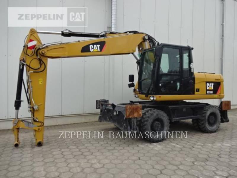 CATERPILLAR WHEEL EXCAVATORS M316D equipment  photo 1