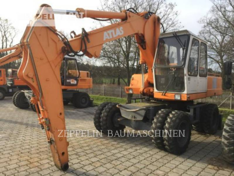 ATLAS WHEEL EXCAVATORS 1604 equipment  photo 1