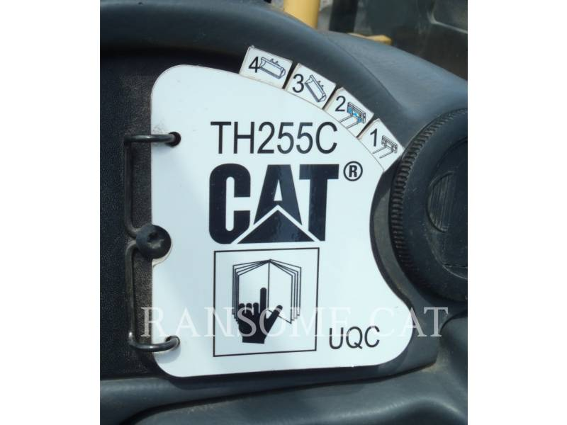 CATERPILLAR TELEHANDLER TH255C equipment  photo 13