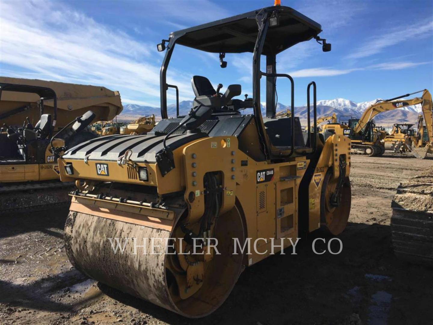Detail photo of 2013 Caterpillar CB44B from Construction Equipment Guide
