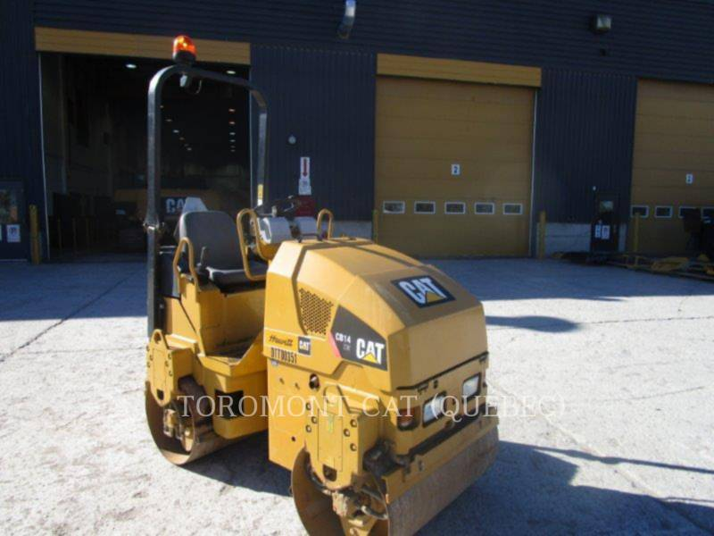 CATERPILLAR TANDEMOWY WALEC WIBRACYJNY DO ASFALTU (STAL-STAL) CB14 equipment  photo 3