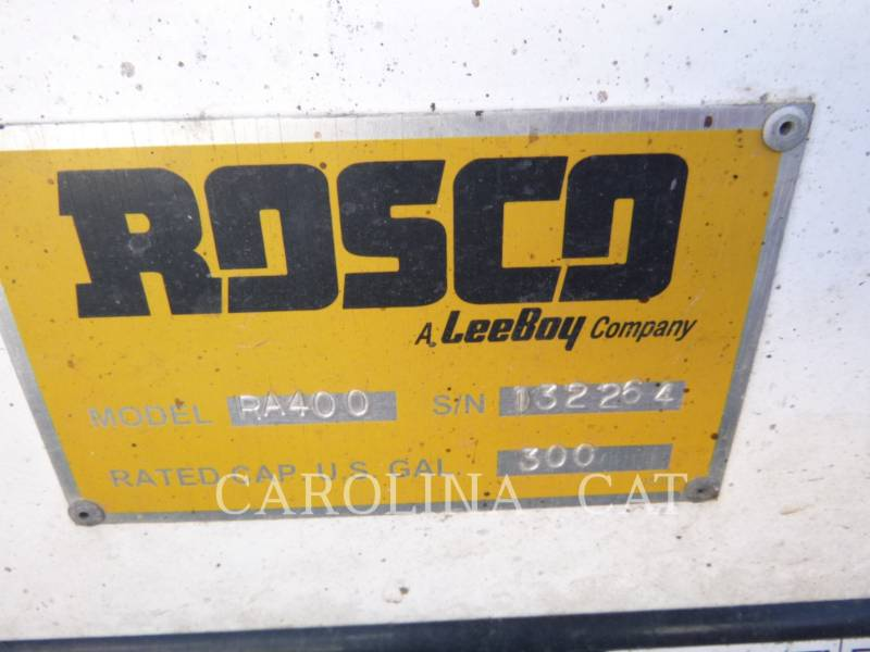 ROSCO VEHICULES UTILITAIRES RA 400 equipment  photo 9