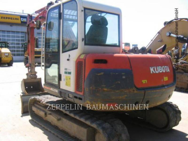KUBOTA CORPORATION PELLES SUR CHAINES KX251 equipment  photo 4