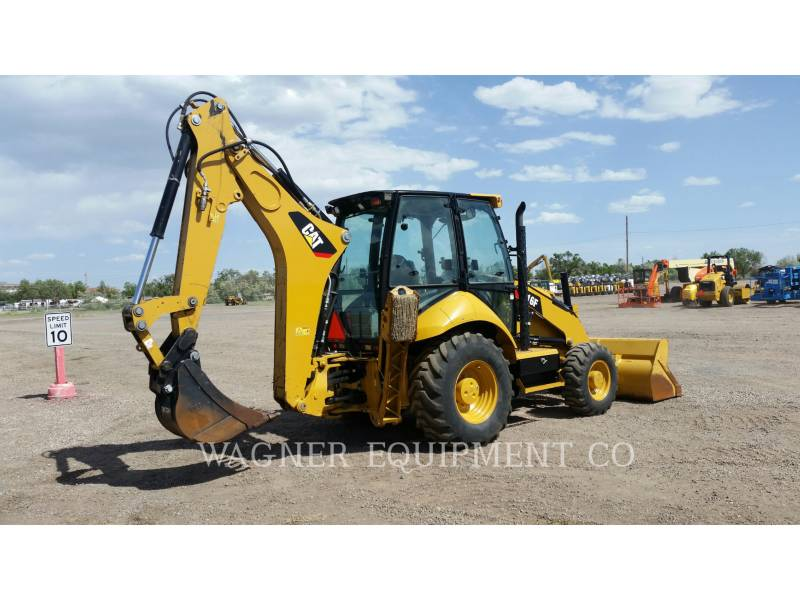 CATERPILLAR CHARGEUSES-PELLETEUSES 416F 4WD equipment  photo 3